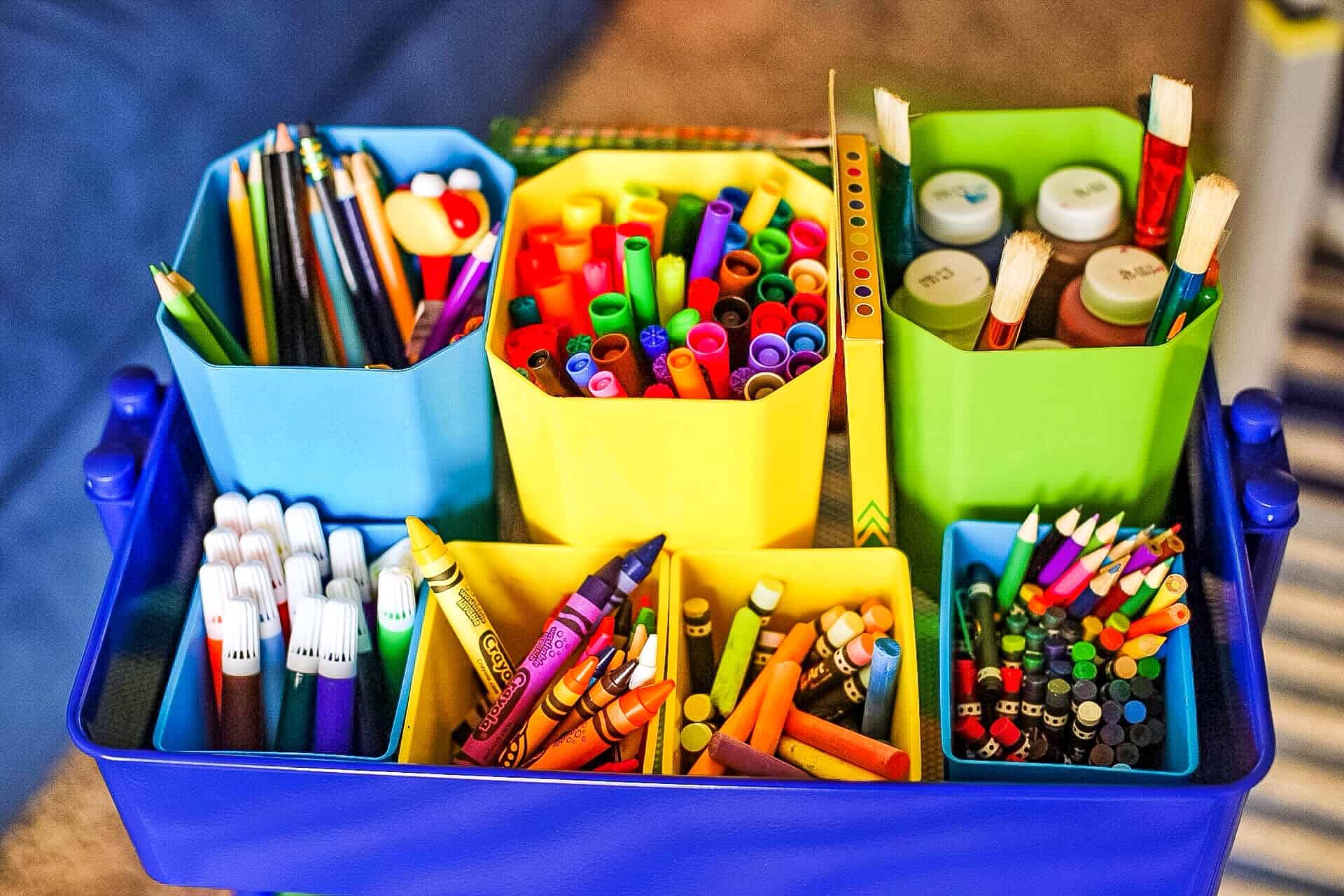 How to Organize Crafts: 5 Top Tips featured by top US lifestyle blog, Glamorous Versatility