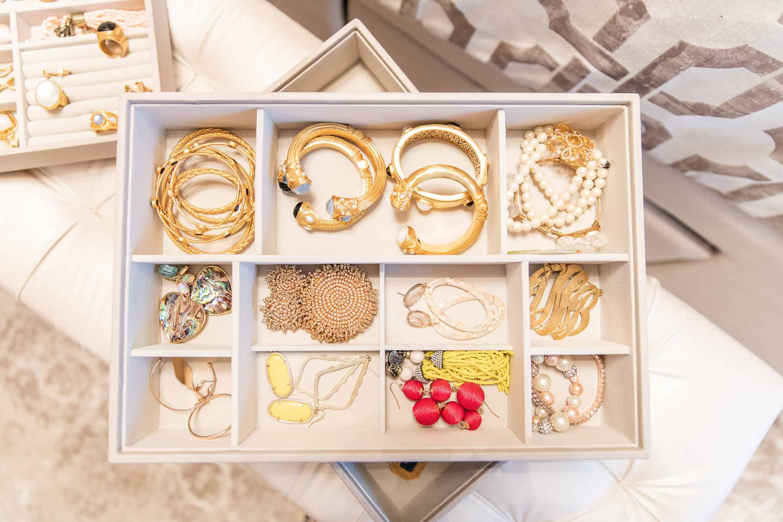 How To Organize Jewelry featured by top US life and style blog, Glamorous Versatility