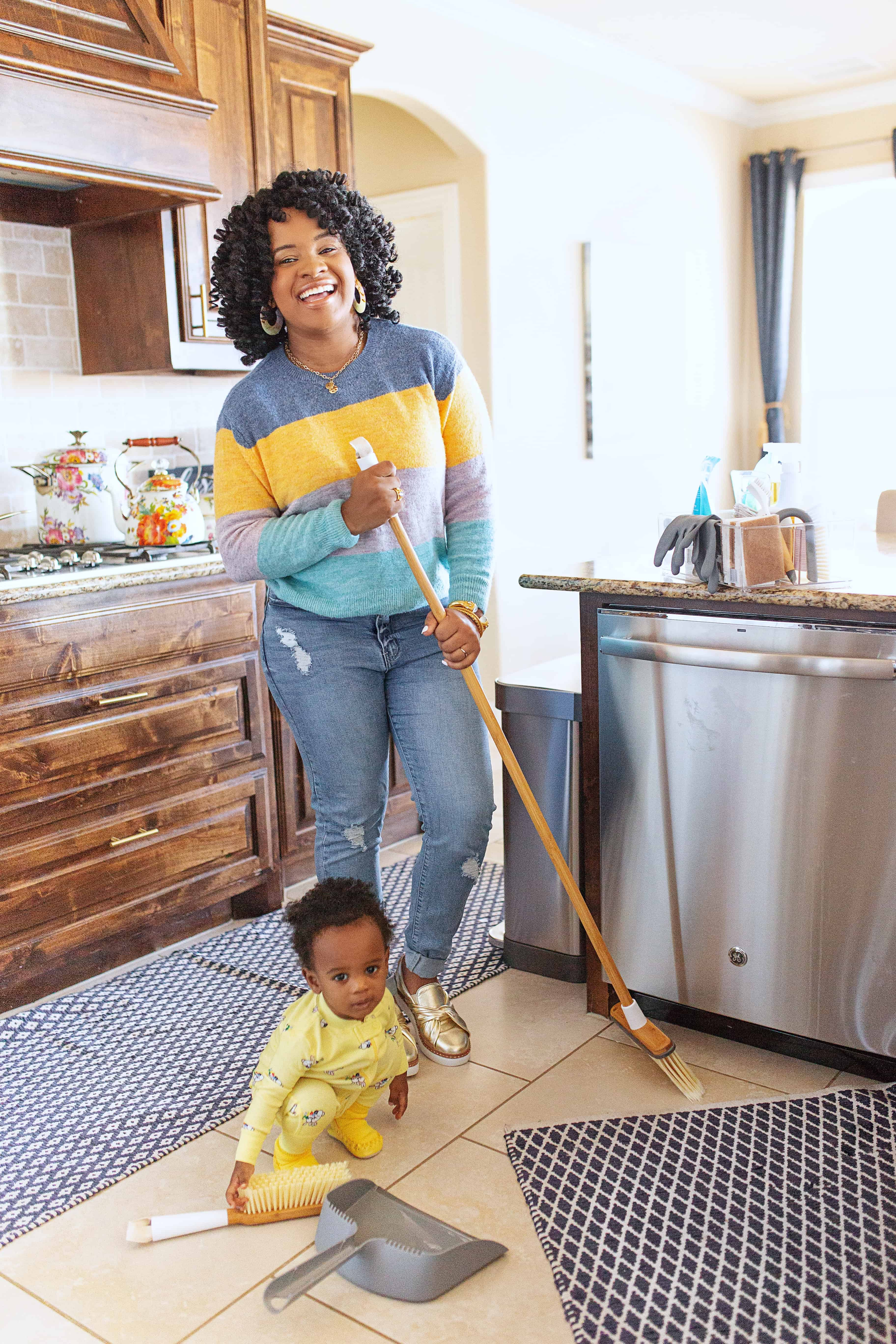 How to Spring Clean your House: 50 Easy Ways featured by top US lifestyle blog, Glamorous Versatility