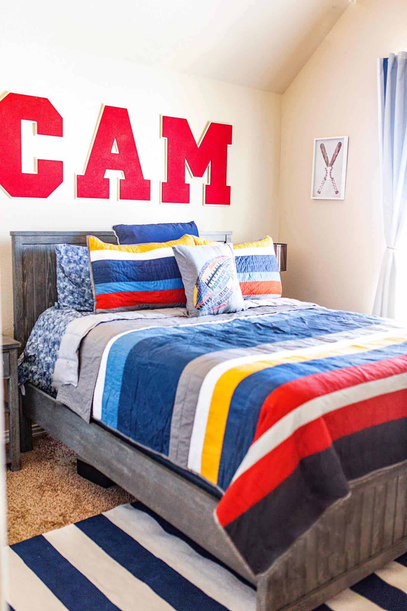 The Ultimate Teen Bedroom Makeover with Pottery Barn featured by top US life and style blog, Glamorous Versatility