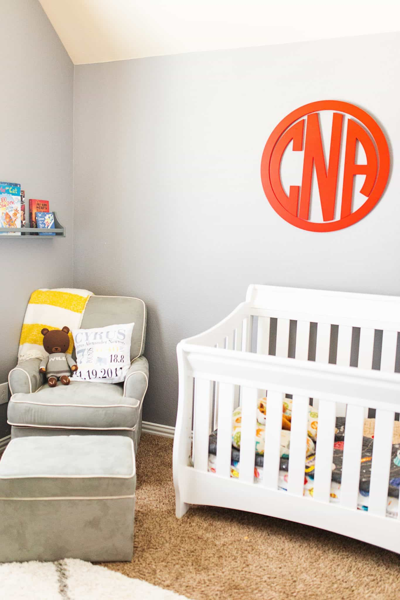 Nursery Essentials: Top 10 Things You Actually Need in your Baby's Room featured by top US life and style blog, Glamorous Versatility