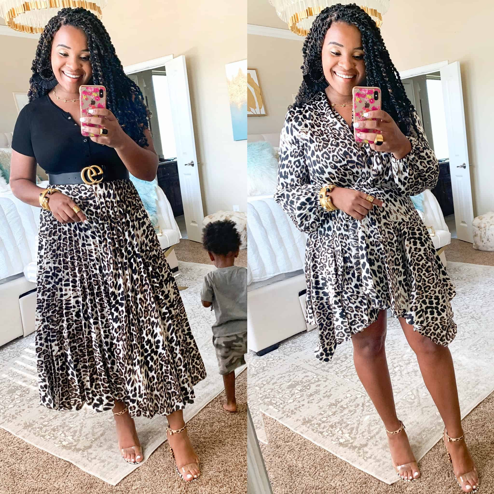 Leopard Print Trend Styled 3 Ways featured by top US fashion blog, Glamorous Versatility