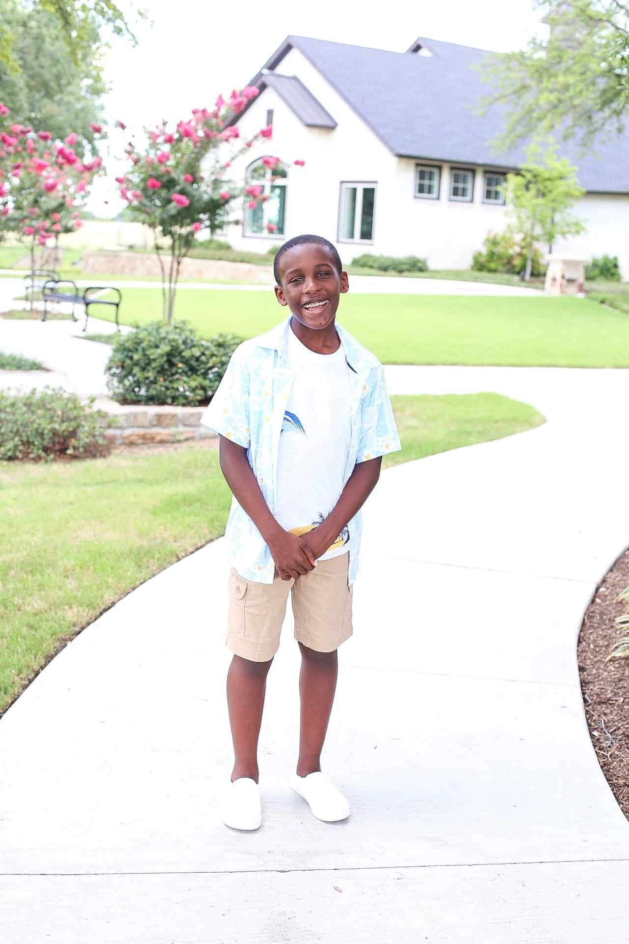 Walmart Back To School Fashion for Boys featured by top US fashion blog, Glamorous Versatility