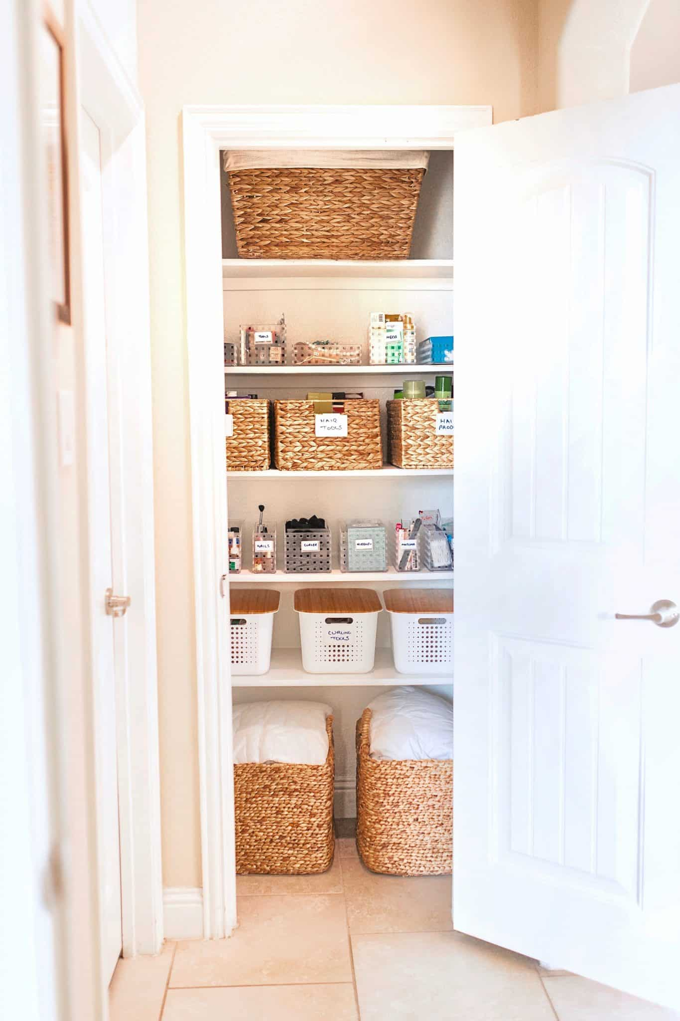 Useful Bathroom Closet Organization Ideas | Home ...