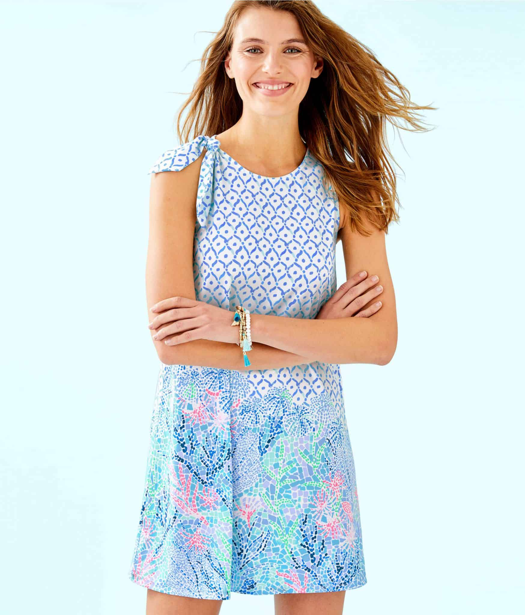 Lilly Pulitzer After Party Sale favorites featured by top US fashion blog, Glamorous Versatility: image of Lilly Pulitzer Luella swing dress