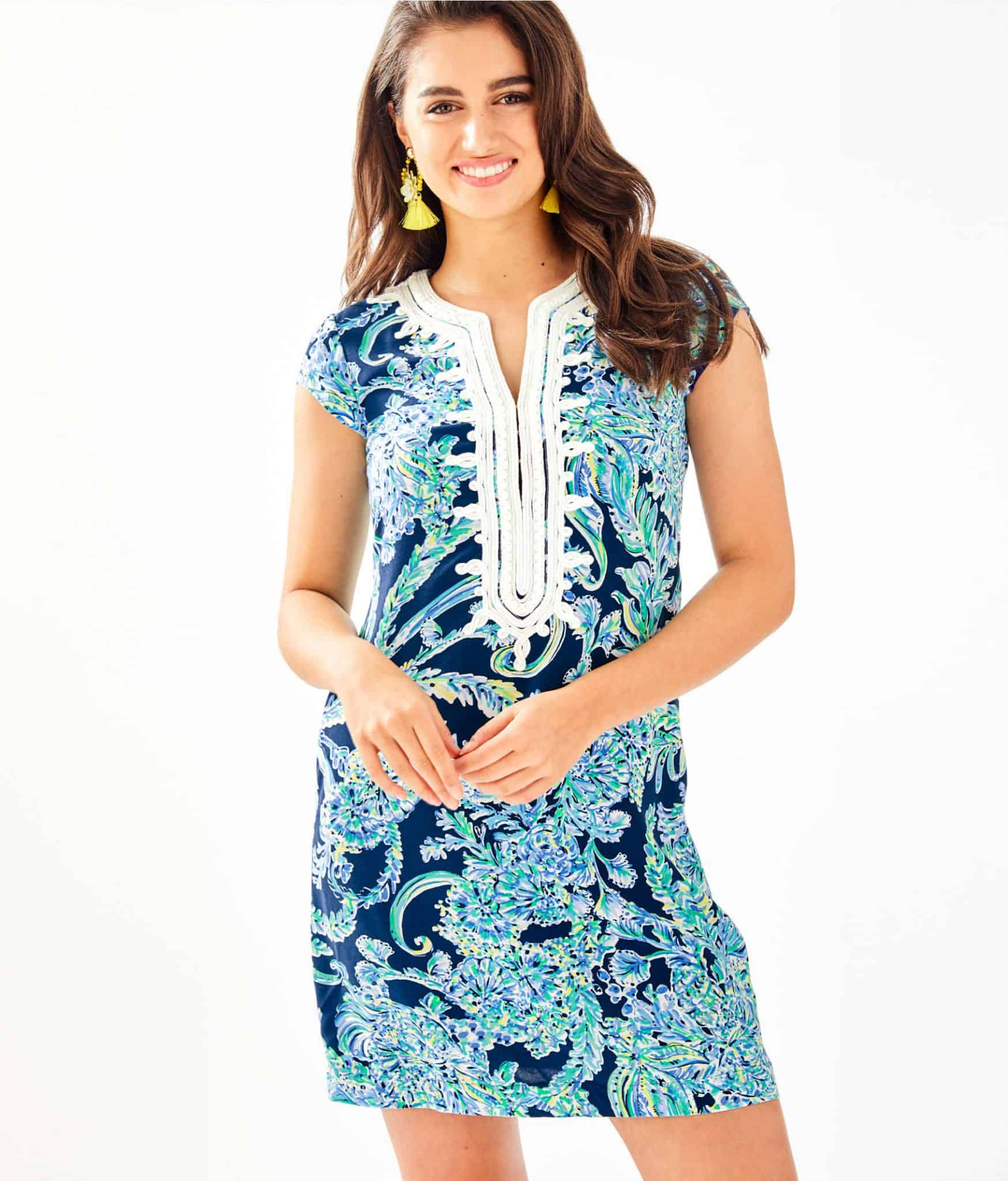 Lilly Pulitzer After Party Sale favorites featured by top US fashion blog, Glamorous Versatility: image of Lilly Pulitzer Madia tunic dress