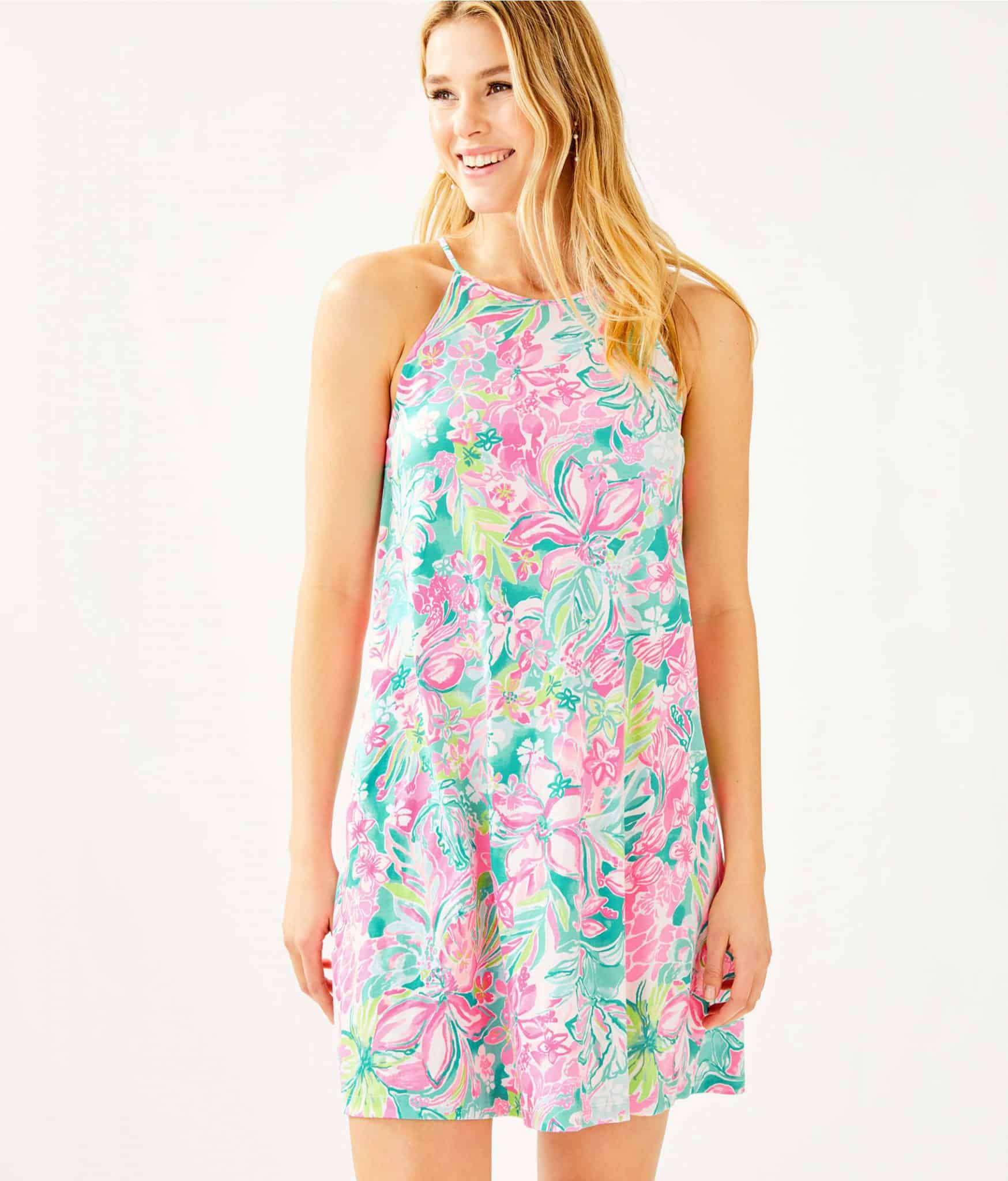 Lilly Pulitzer After Party Sale favorites featured by top US fashion blog, Glamorous Versatility: image of Lilly Pulitzer Margot swing dress