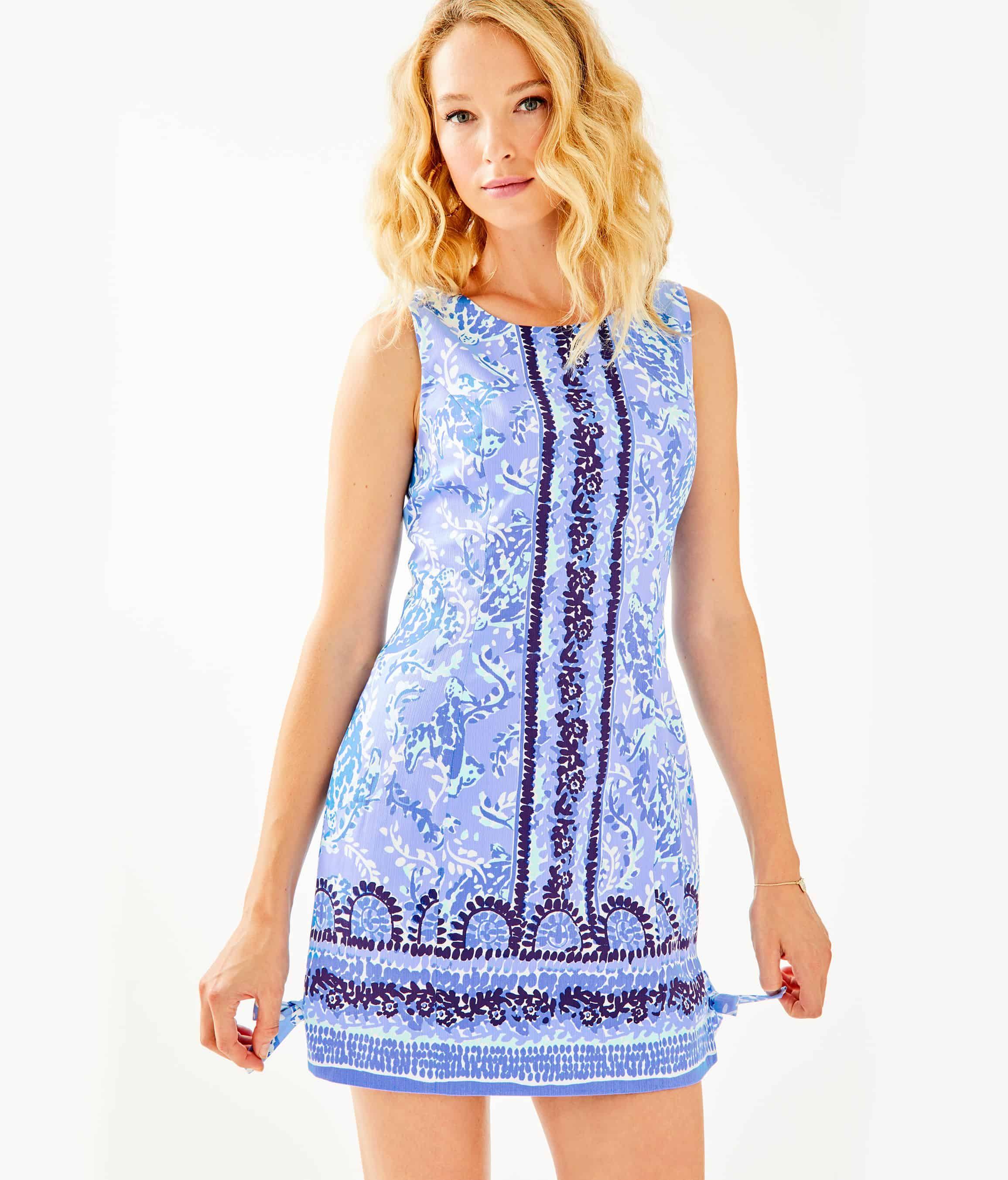 Lilly Pulitzer After Party Sale favorites featured by top US fashion blog, Glamorous Versatility: image of Lilly Pulitzer Mila stretch fit dress