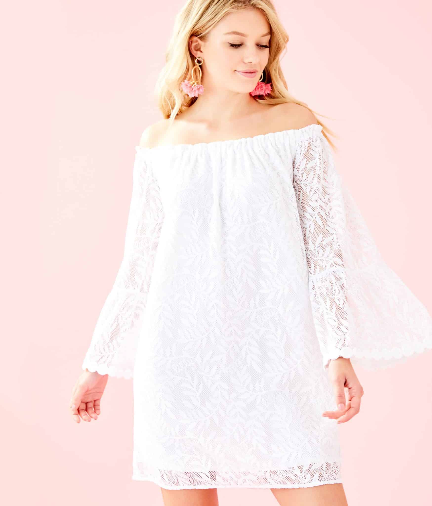 Lilly Pulitzer After Party Sale favorites featured by top US fashion blog, Glamorous Versatility: image of Nevie dress