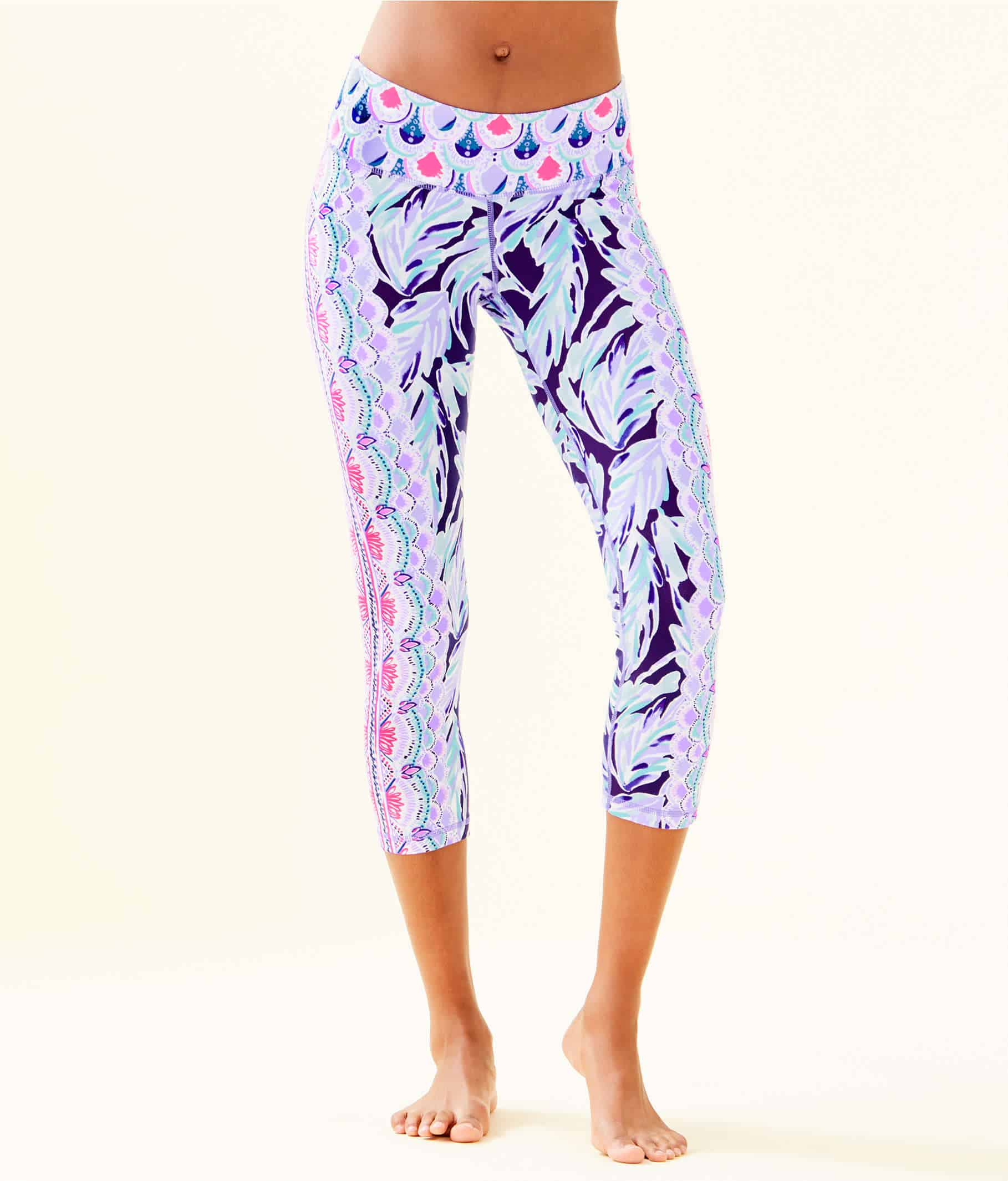 Lilly Pulitzer After Party Sale favorites featured by top US fashion blog, Glamorous Versatility: image of high rise midi leggings