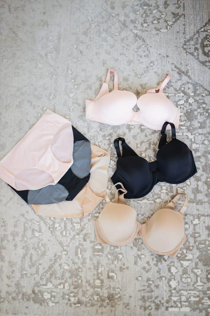 My Soma Favorites for Bras and Underwear by popular fashion blog, Glamorous Versatility: image of Soma underwear and bras.