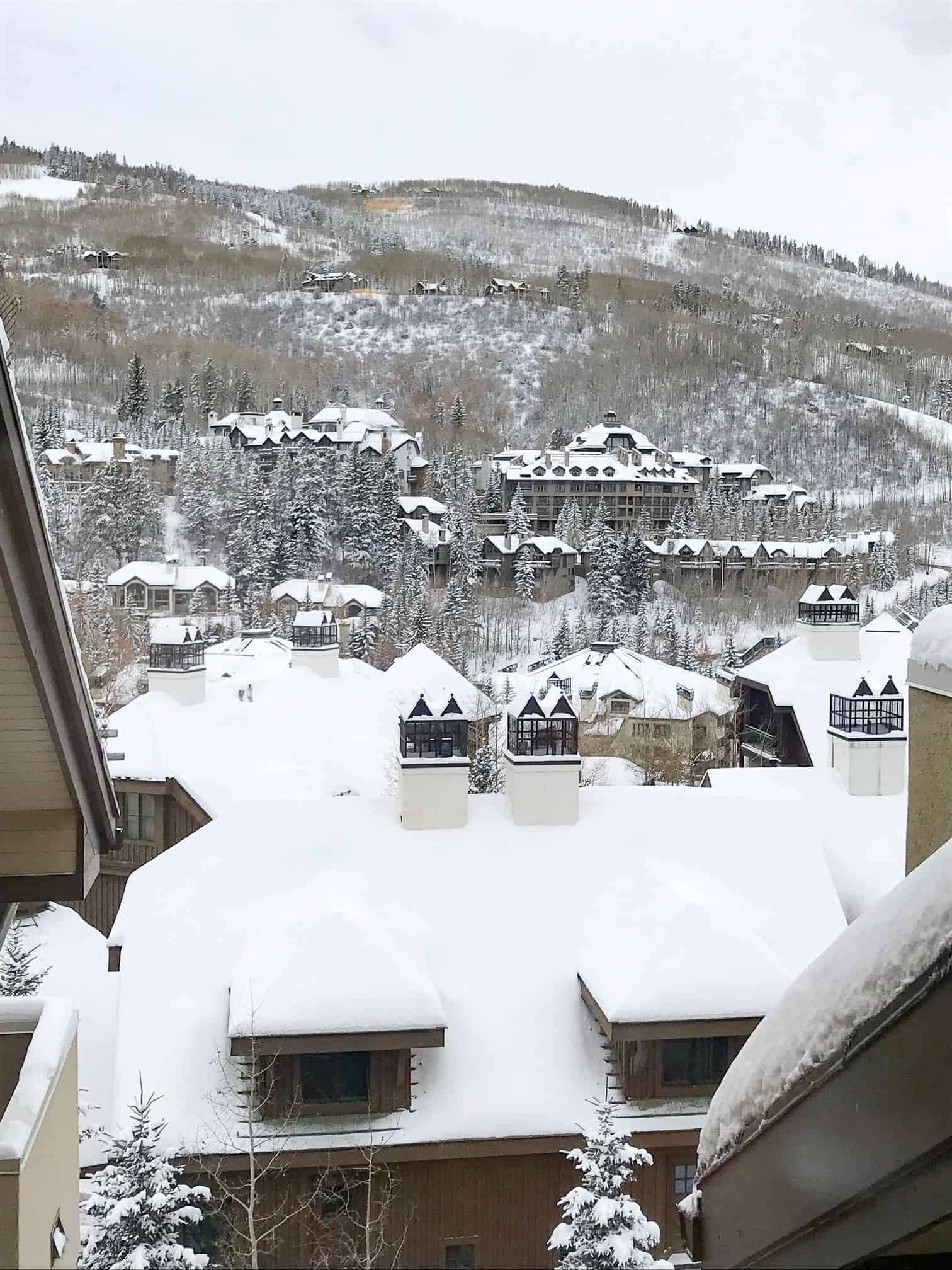 How to Plan a Ski Trip for Your Family by popular lifestyle blog, Glamorous Versatility: image of Beaver Creek Ski Resort in Avon, Colorado.