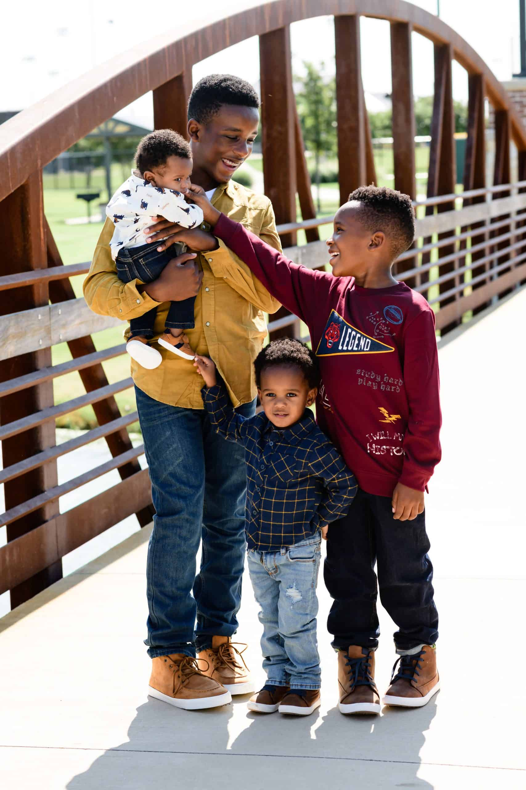 What to Wear for Family Photos in the Fall, tips featured by top Dallas life and style blogger, Glamorous Versatility